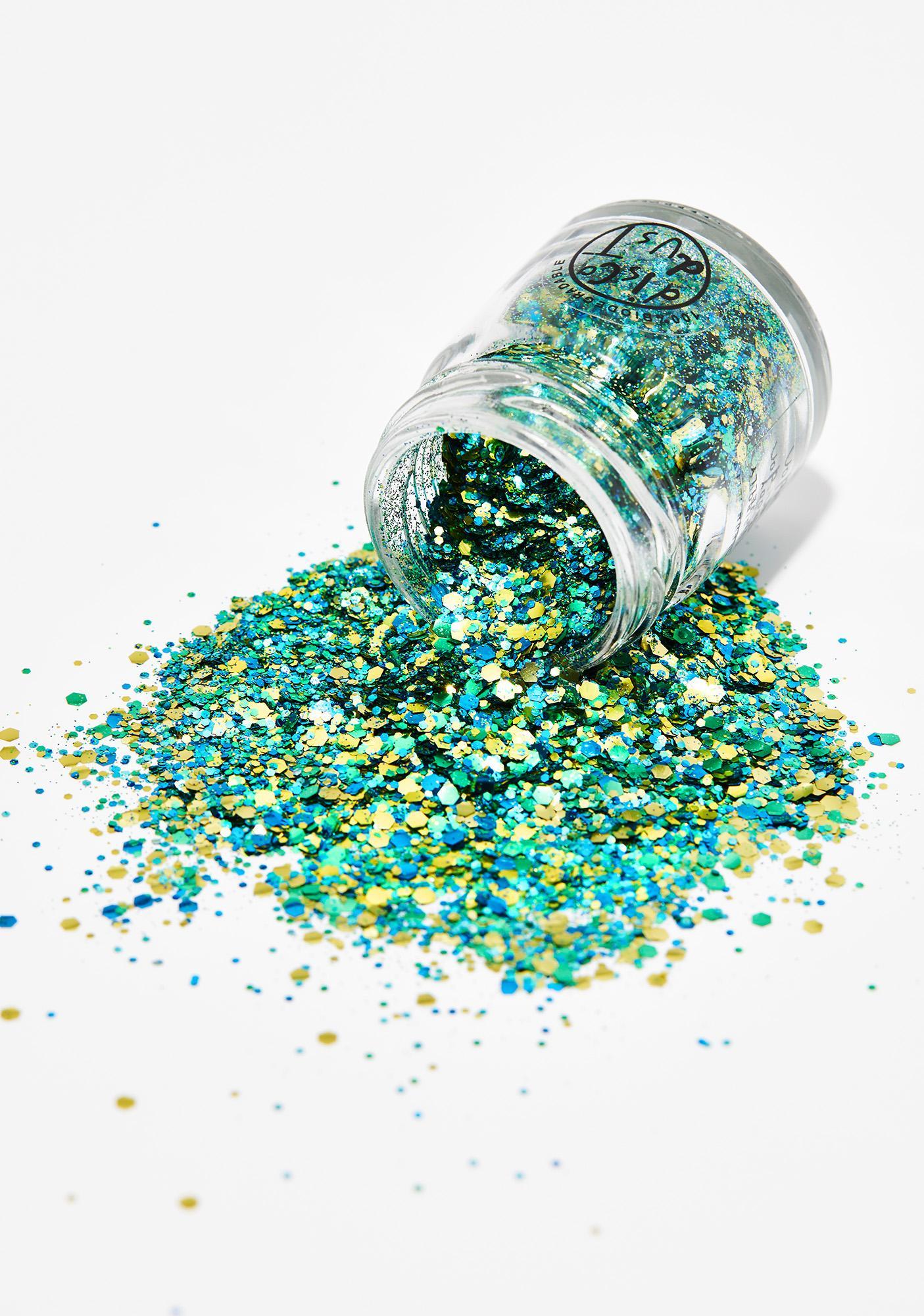 Disco Dust London Blue Extra Chunky Bio Glitter