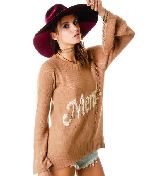 Wildfox Couture Merde! Favorite Sweater