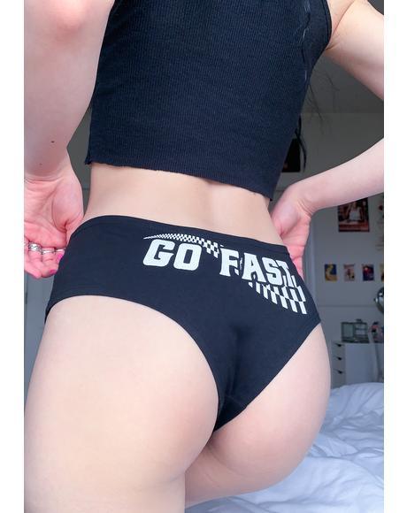 Go Fast Boyshorts
