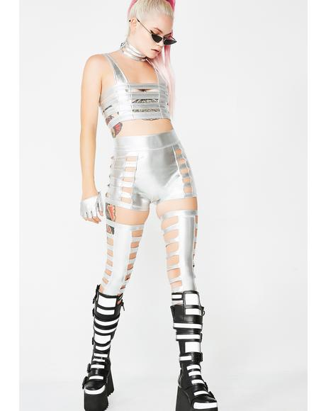 Chrome Cage Legs