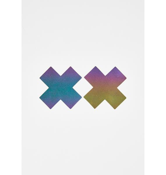 Pastease Rainbow Reflective X Pasties