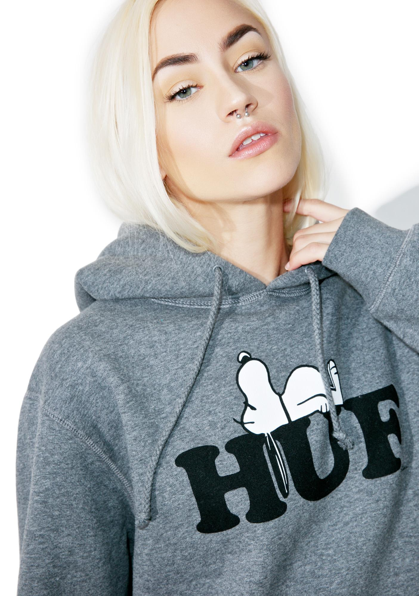 HUF X Snoopy Pullover Hoodie