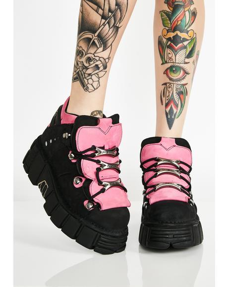 Heart Stompin Platform Booties