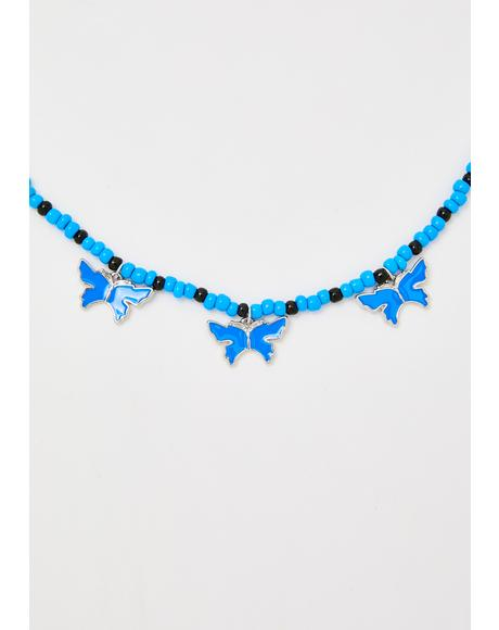 Wild Child Butterfly Necklace