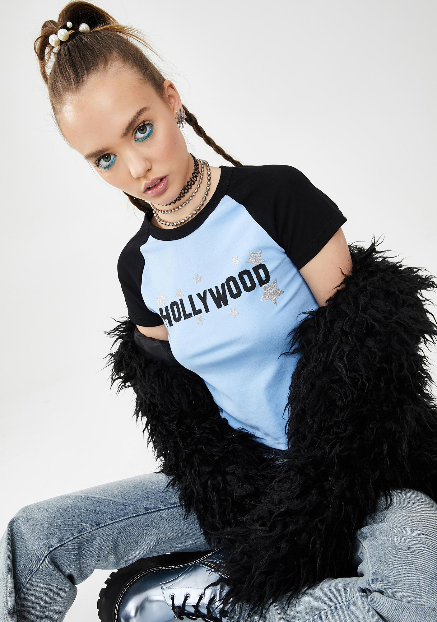 dELiA*s by Dolls Kill Now In Theaters Baby Tee