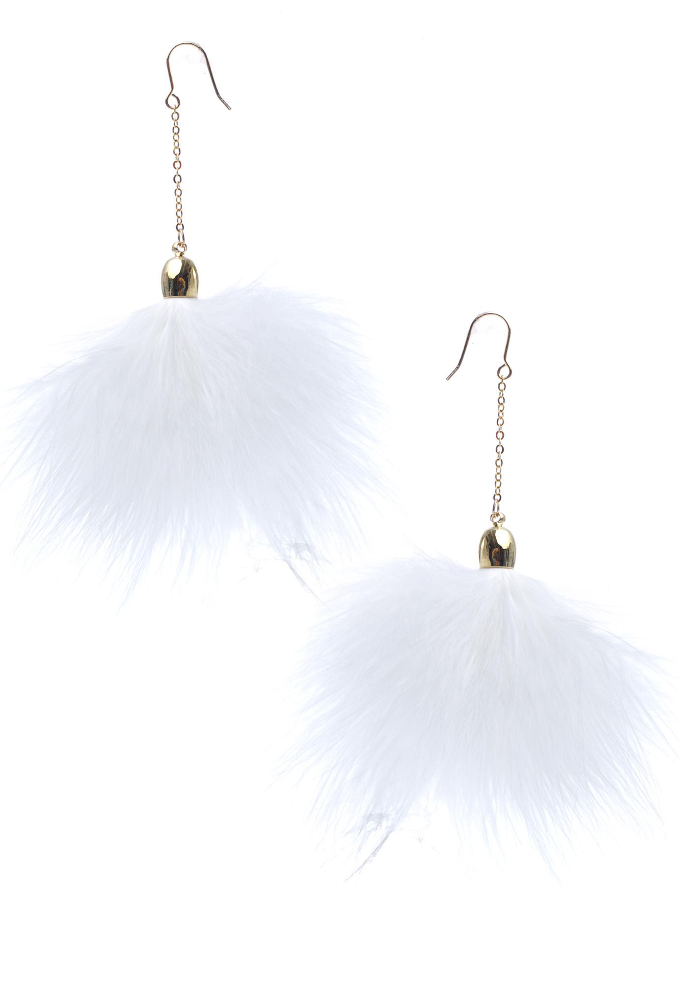 Pure Fluff Earrings