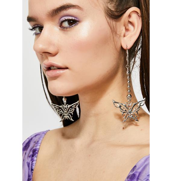 Off Limits Butterfly Earrings