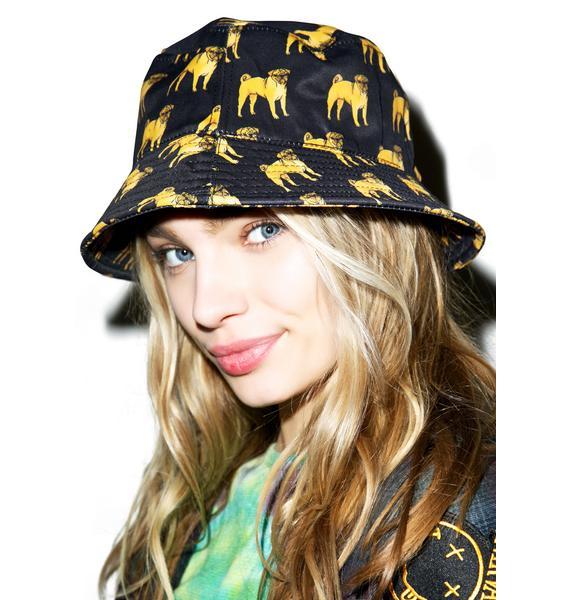 Pug Bucket Hat