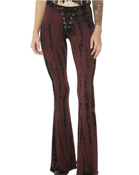 Real Real Gone Tie-Dye Bell Bottoms