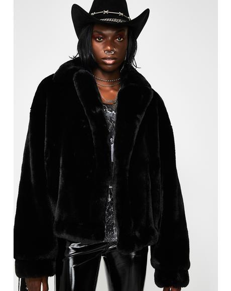 Tinashe Bling Fringe Jacket