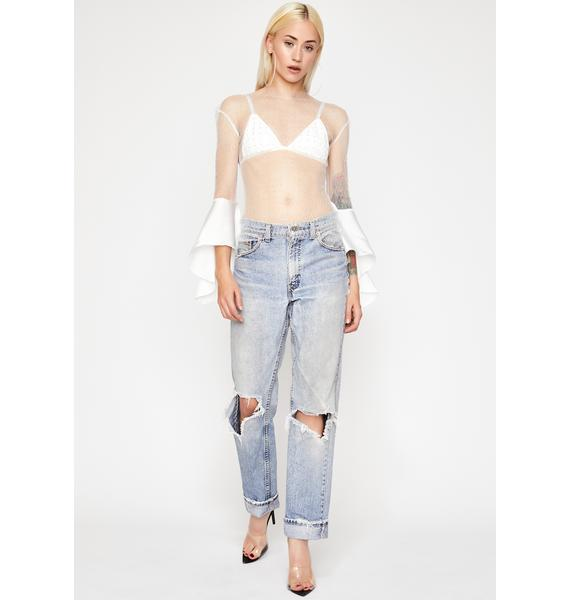 Purely Ring The Belle Mesh Top