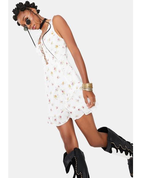 Wildflower Mini Dress