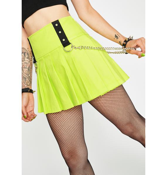 HOROSCOPEZ Intense Aura Pleated Skirt