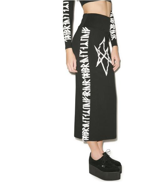 Hexagram Skirt