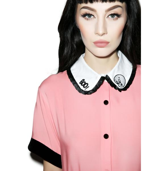 Lazy Oaf X Casper Boo Dress