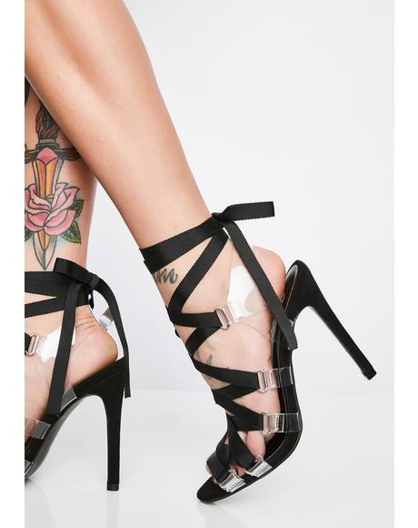Hawt Honey Strappy Heels