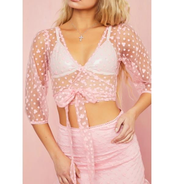 Sugar Thrillz Lust For Life Wrap Top
