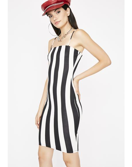 Like A Boss Stripe Dress