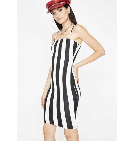 Like A Boss Stripe Dress