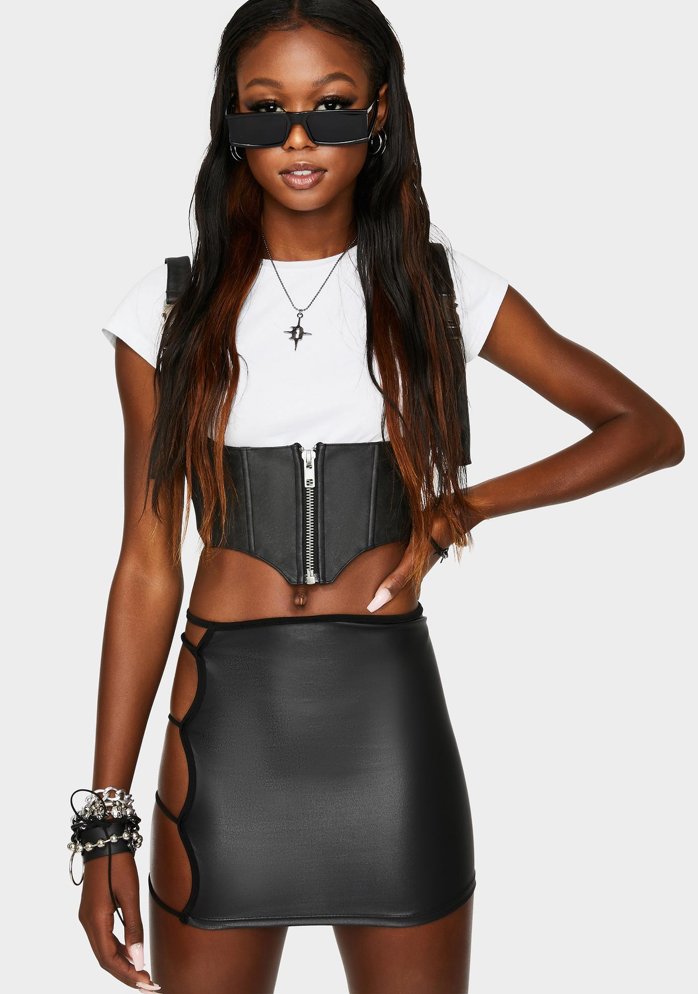 Chasing Success Mini Skirt