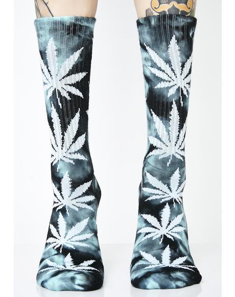 Swirl Tie Dye Plantlife Socks