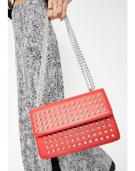 Burned Bruised Ego Studded Crossbody