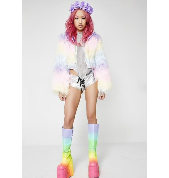 J Valentine Candyland Light-Up Coat