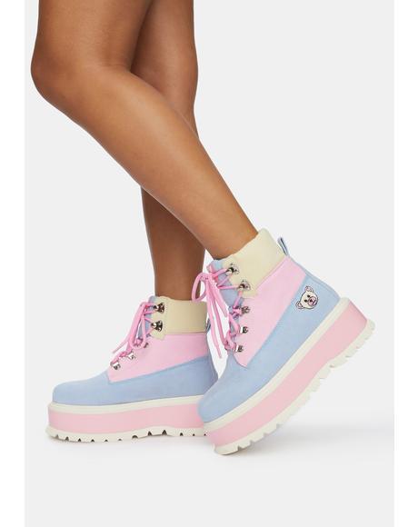 Zozi Platform Boots