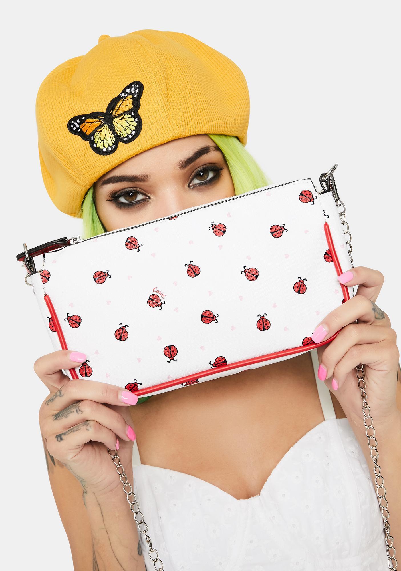 Gots My Spots Ladybug Crossbody Bag