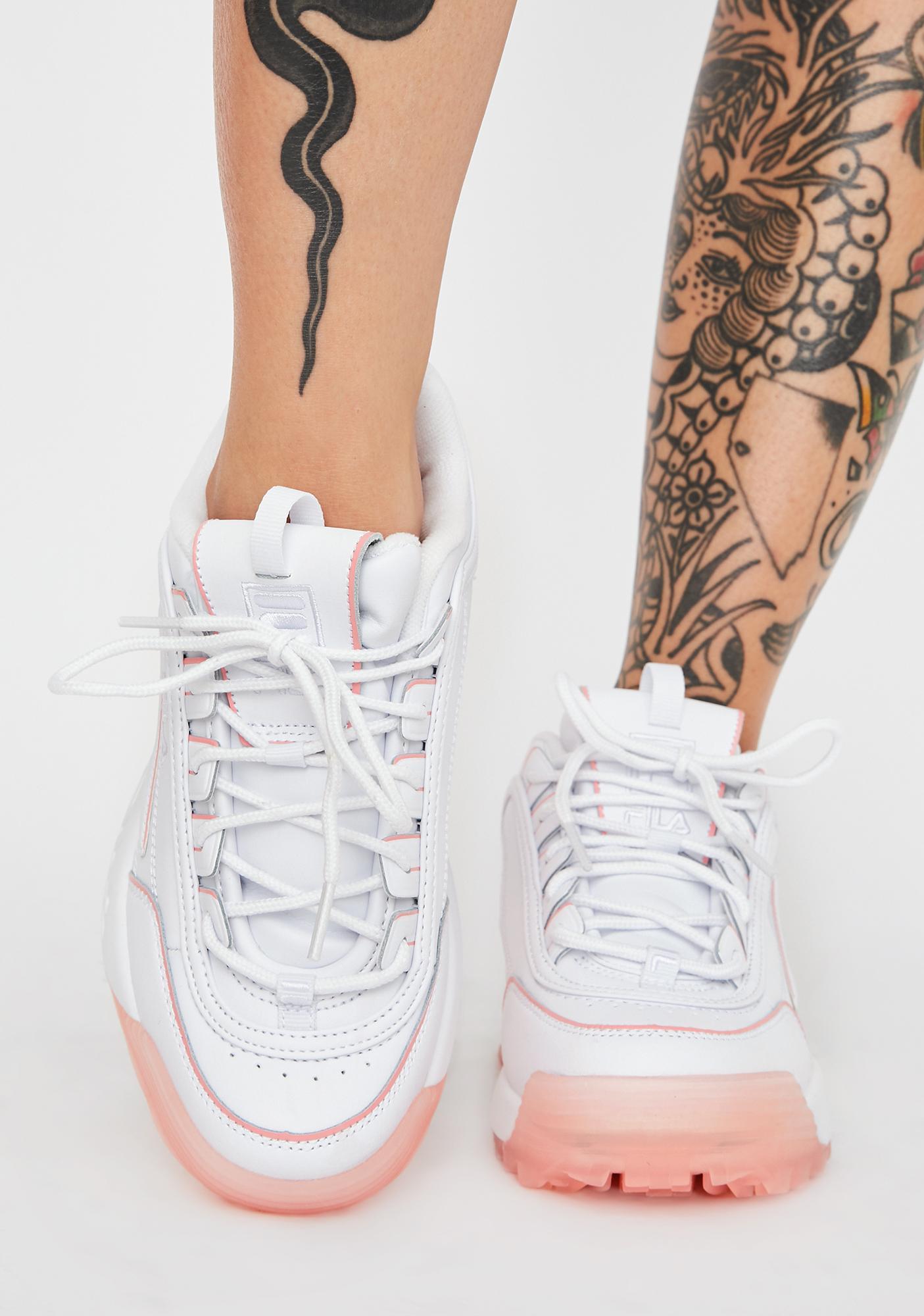 Fila Peony Disruptor 2 Ice Sneakers