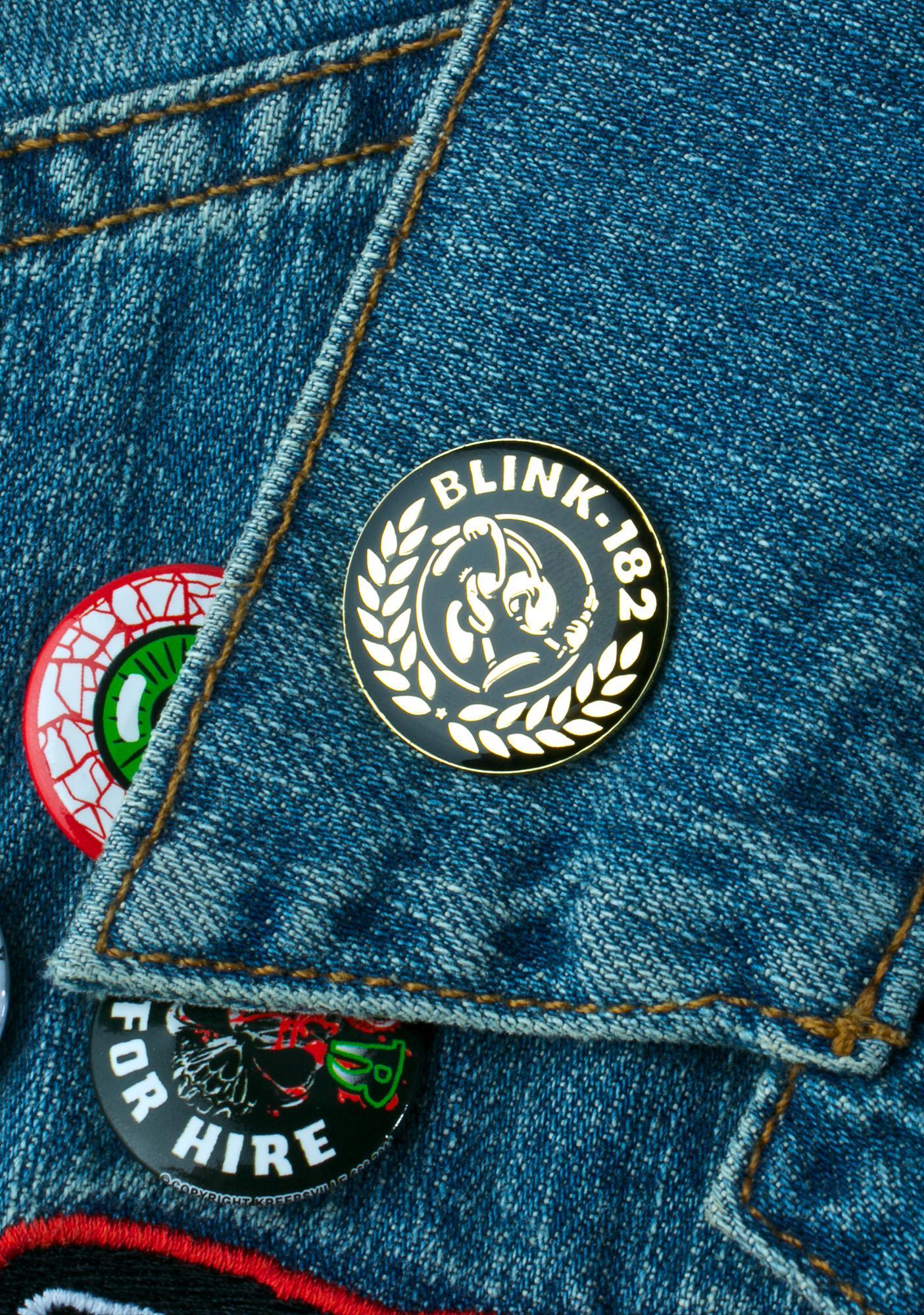 Blink-182 Laurel Pin