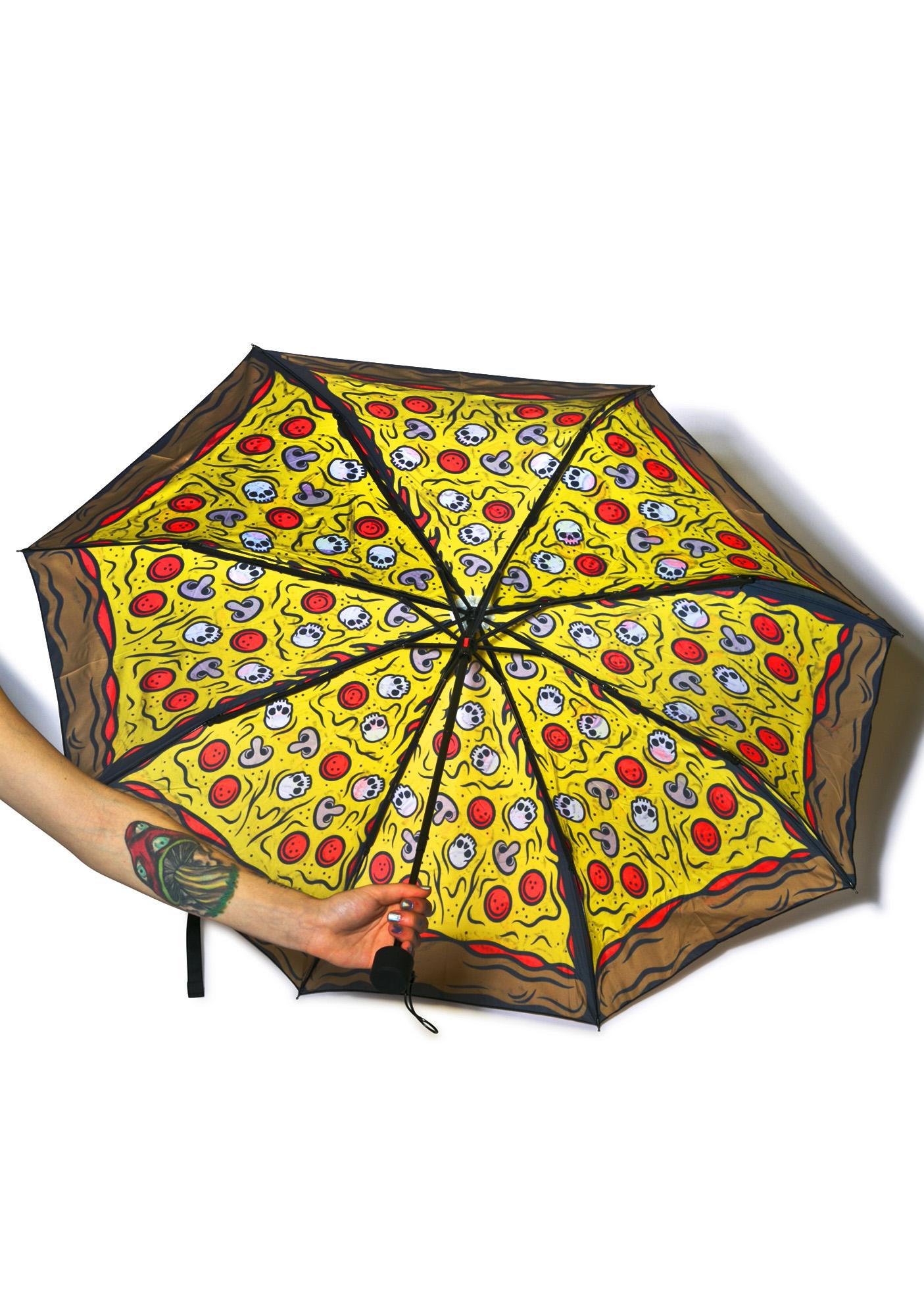 Sourpuss Clothing Pizza Umbrella