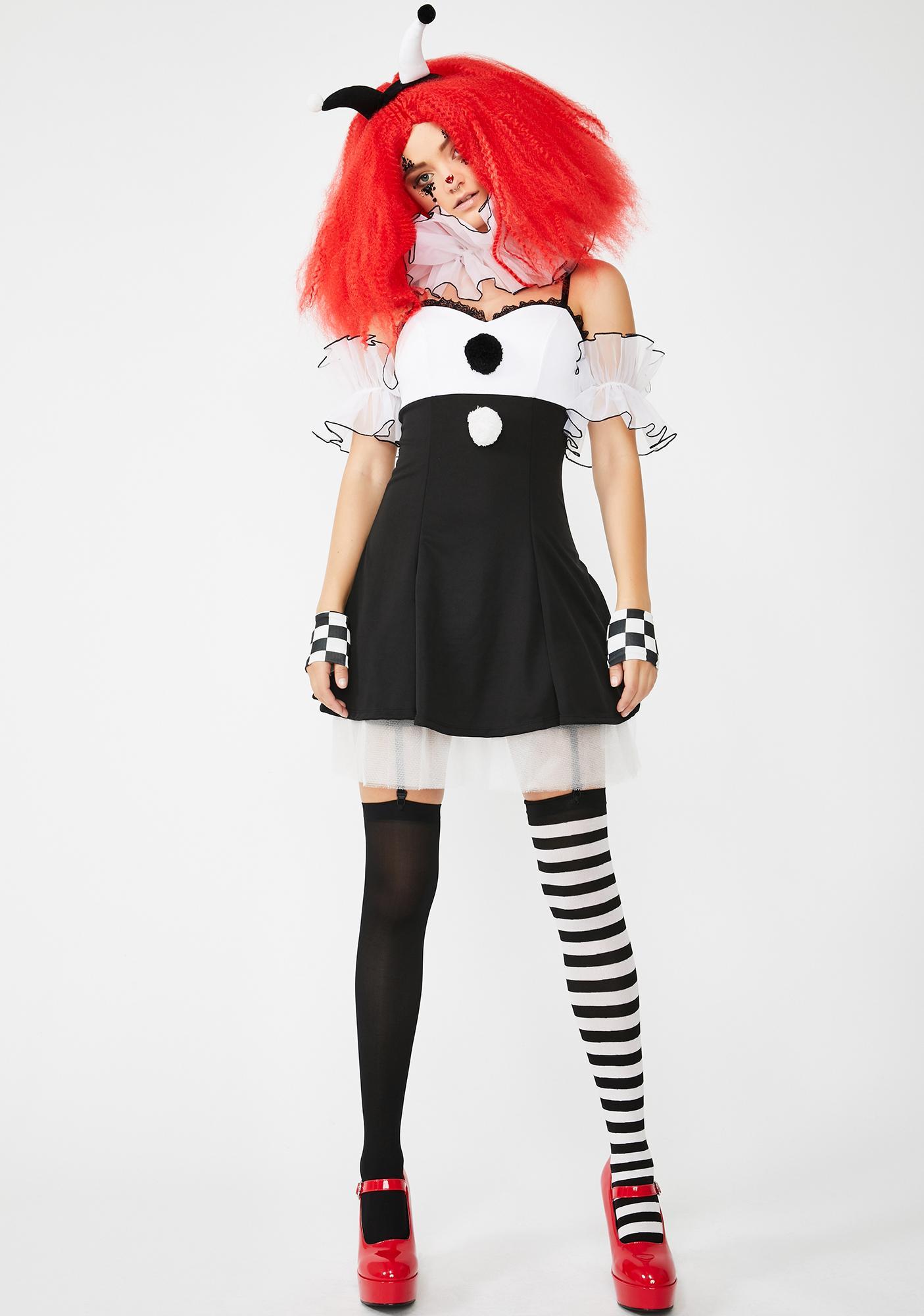 Dolls Kill Carnival Creep Costume Set