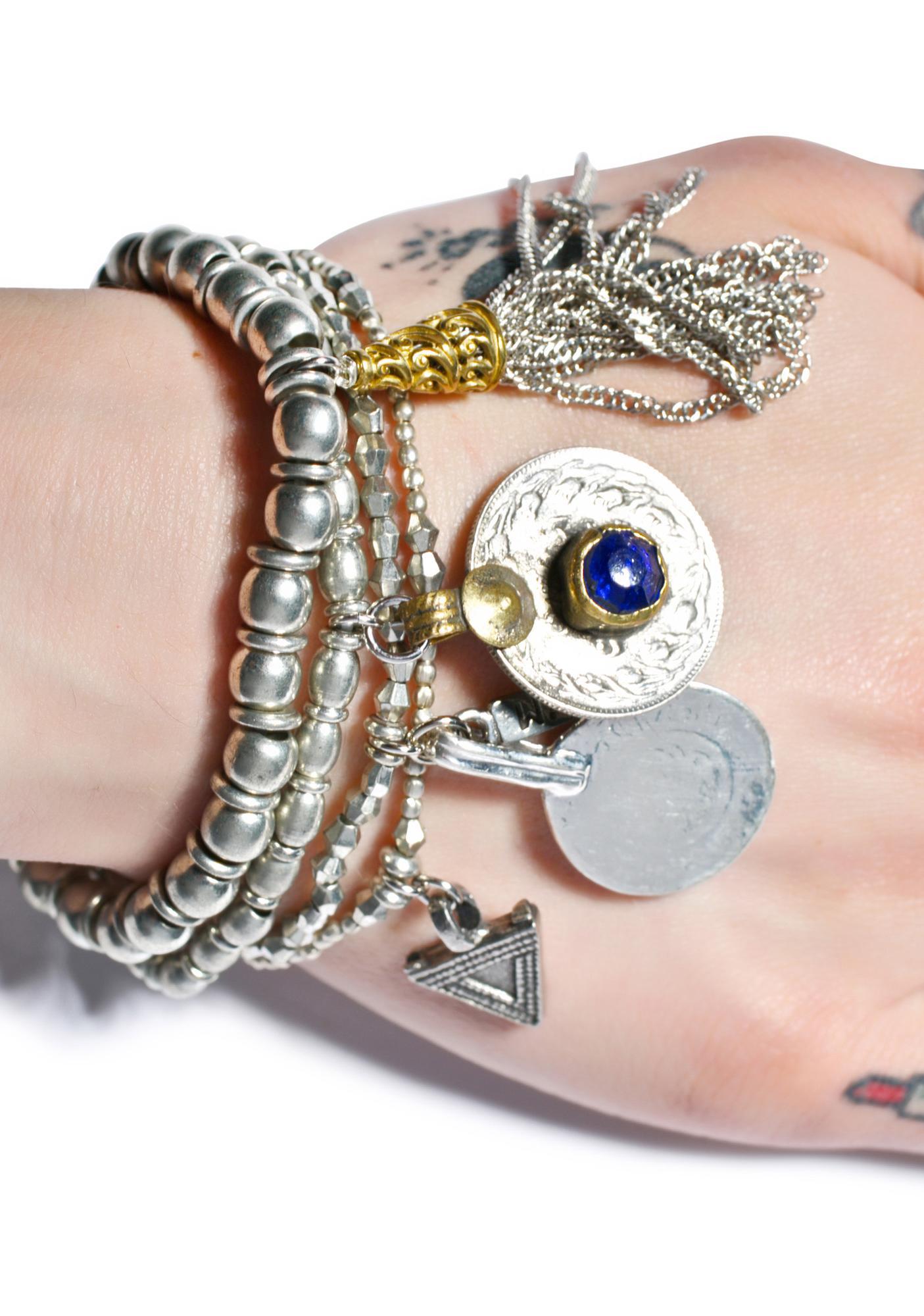 Vanessa Mooney The Patsy Silver Bracelet Set