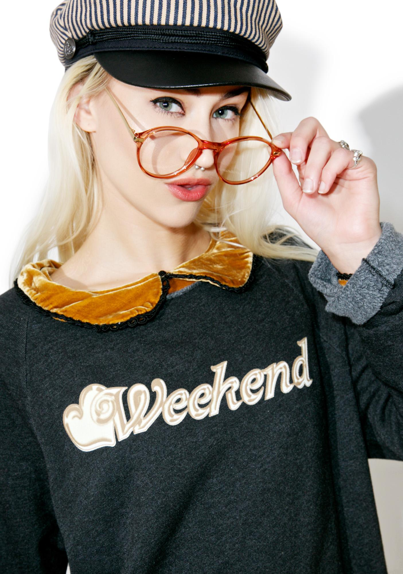 Wildfox Couture Wildfox Weekend Morning Sweatshirt