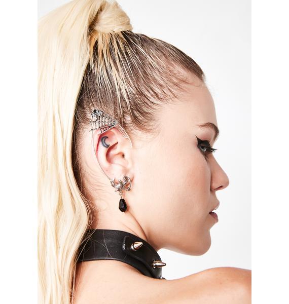 Ayalga Spider Ear Cuff