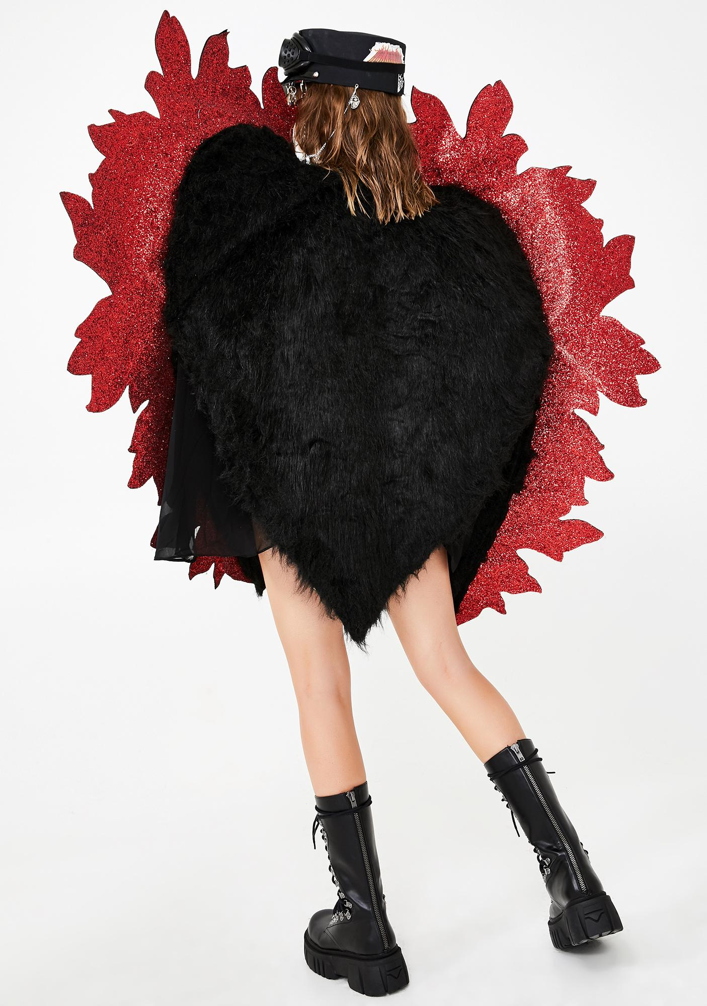 Kiki Riki Soul Incinerator Fuzzy Jacket