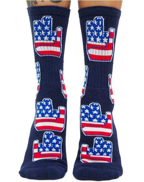 Patriot Shocker Socks