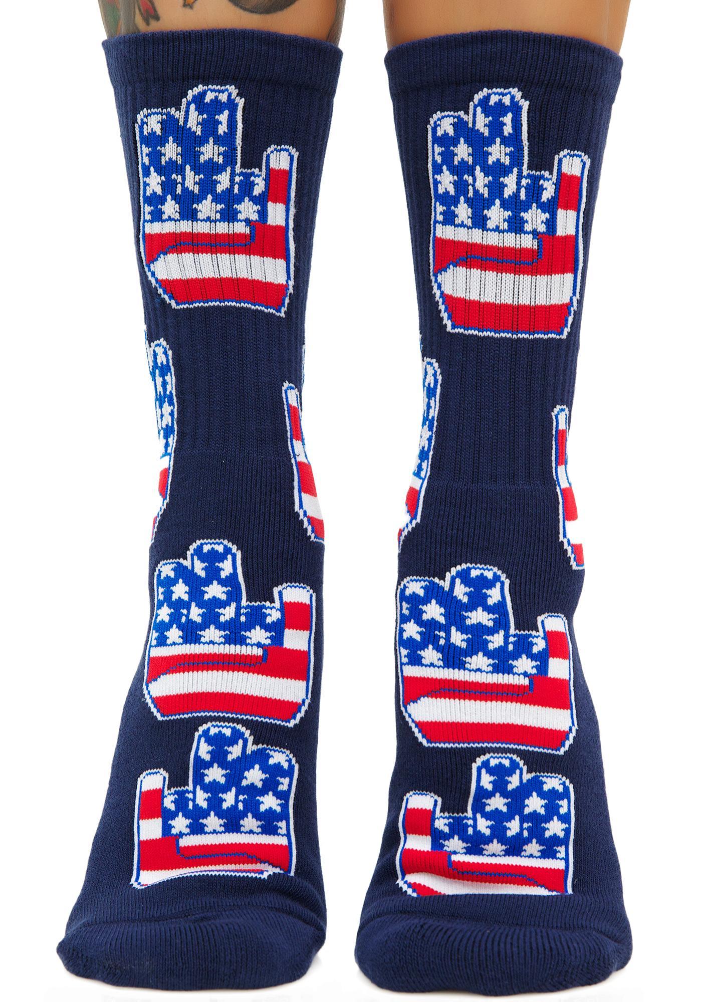 40s & Shorties Patriot Shocker Socks