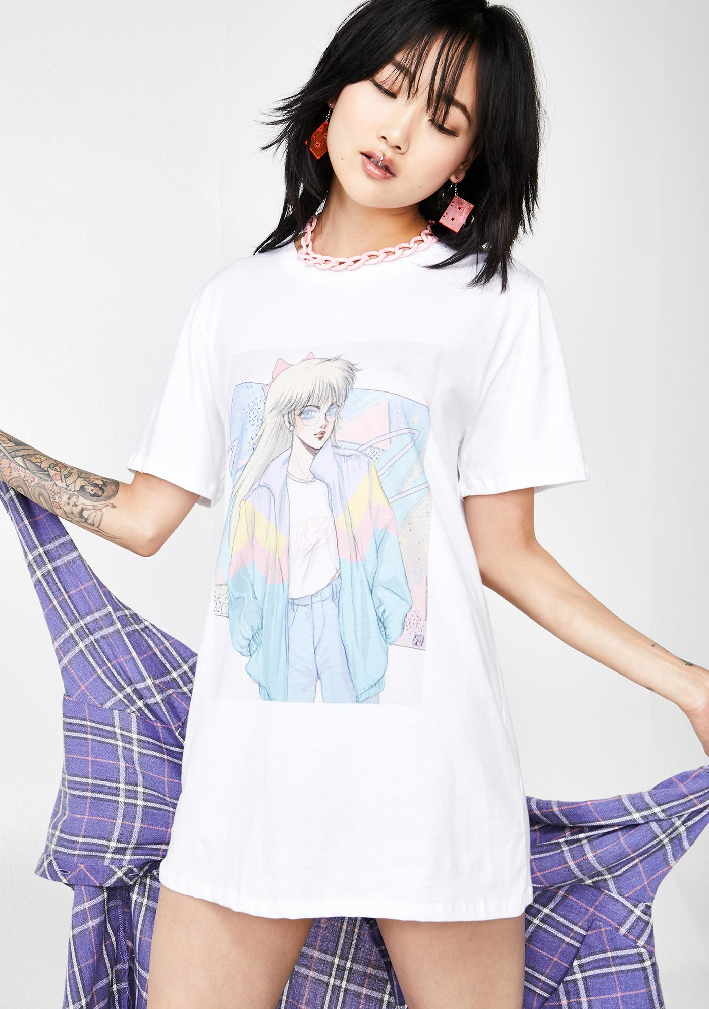 Vapor95  Turbo Babe Graphic Tee