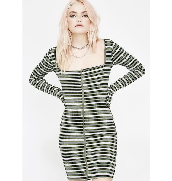 Dank Body Language Mini Dress