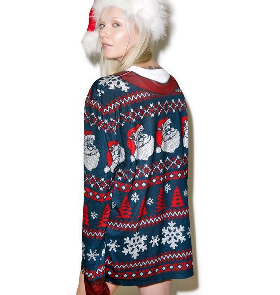 Yer Man Santa Sweater Tee