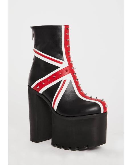 Union Platform Boots