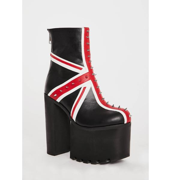 Charla Tedrick Union Platform Boots