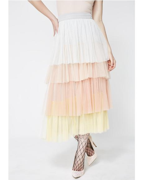 New Princess Layered Skirt