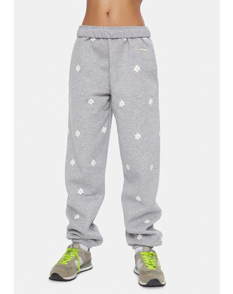 Daisy Printed Sweatpants