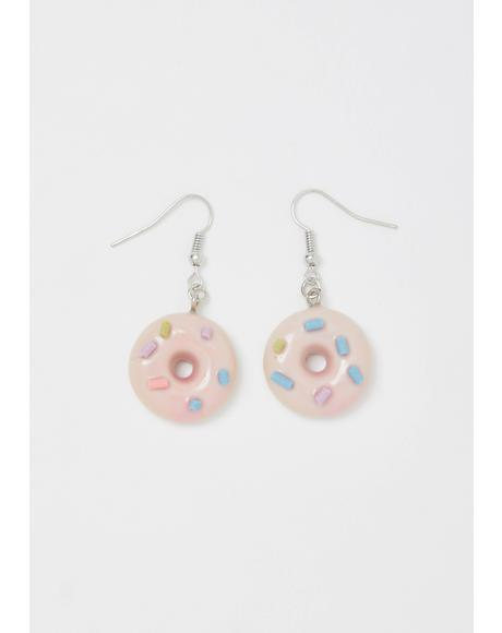 Coffee's BFF Donut Earrings
