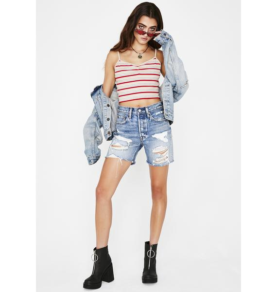 Teenage Fever Stripe Cami