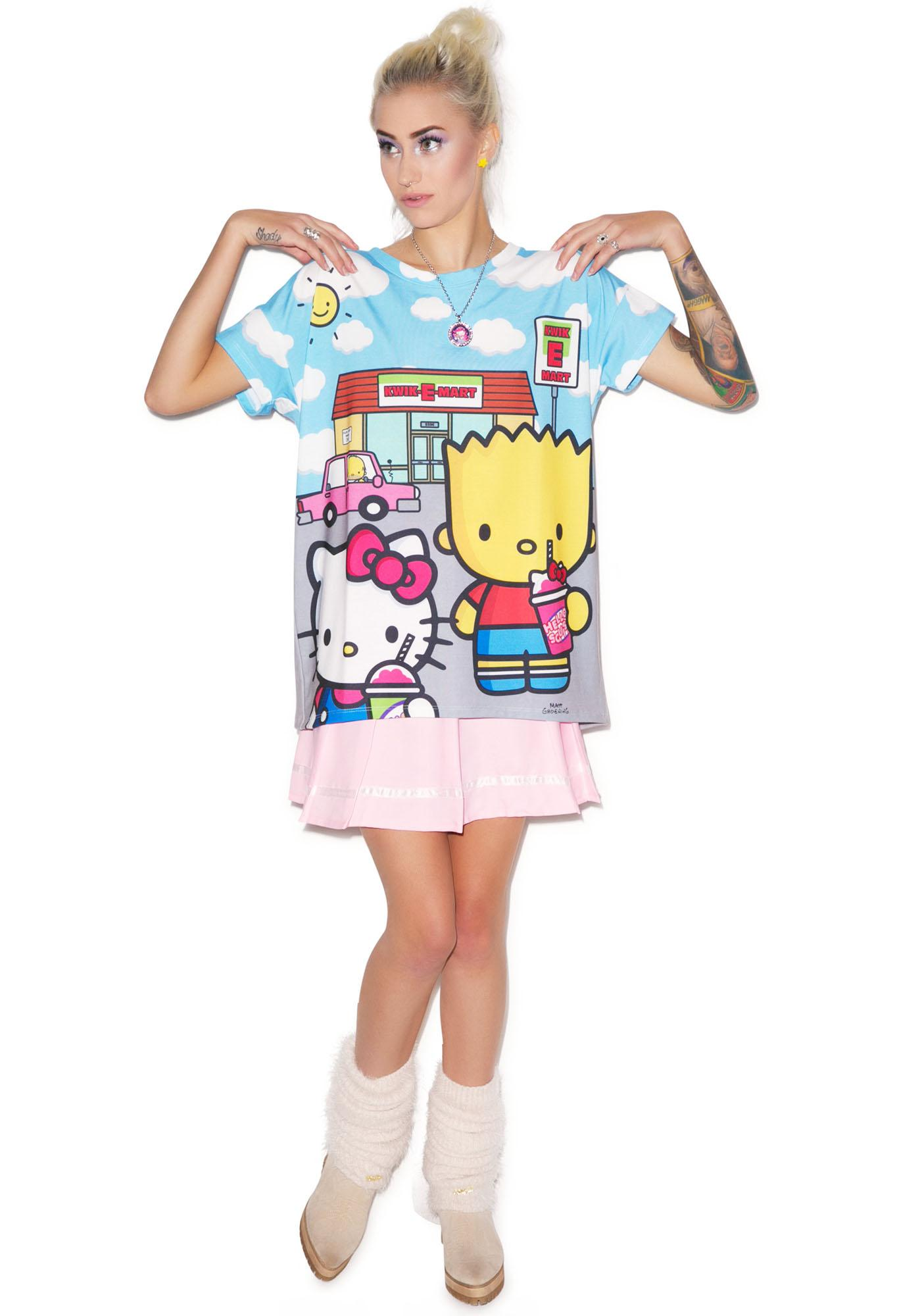 Japan L.A. Kwik E Mart Tunic Top