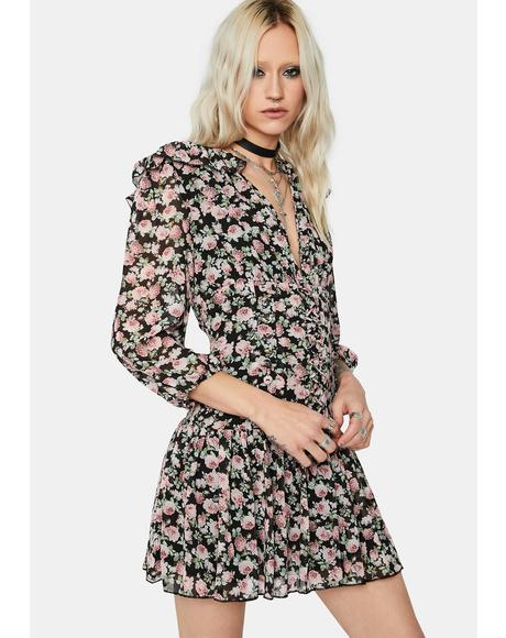 Lost Garden Floral Mini Dress